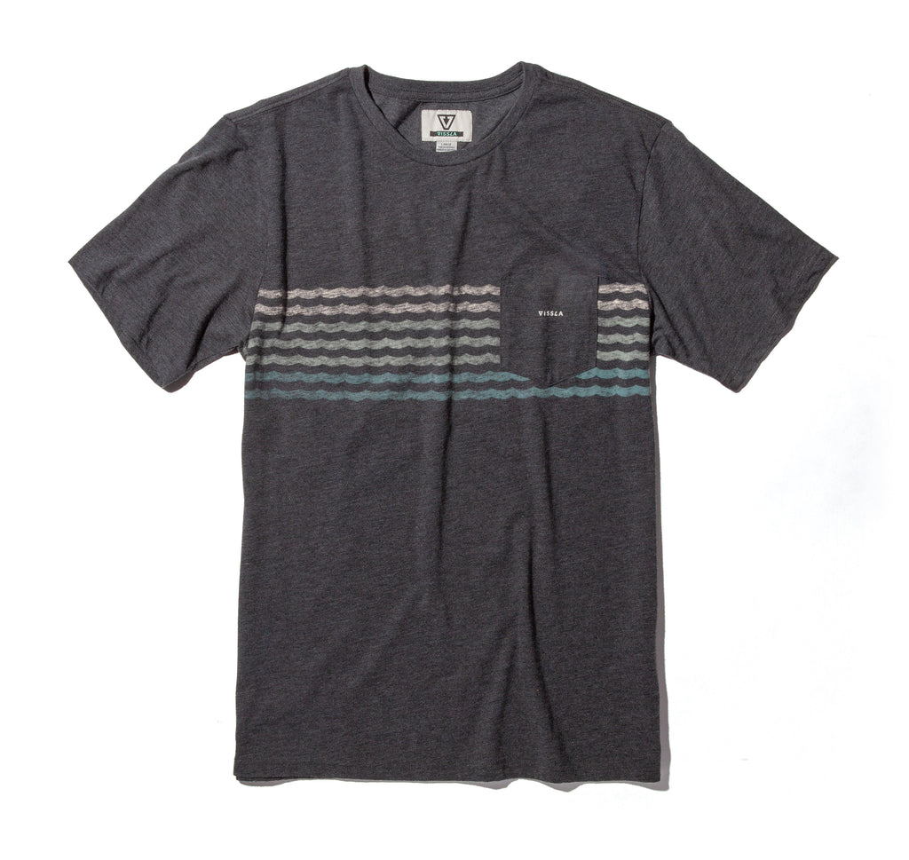 Surfrider Upcycled Knit Tee - Black