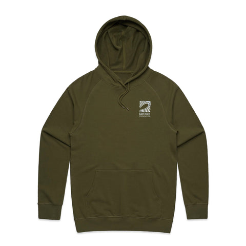 Army Logo Embroidered Hoodie