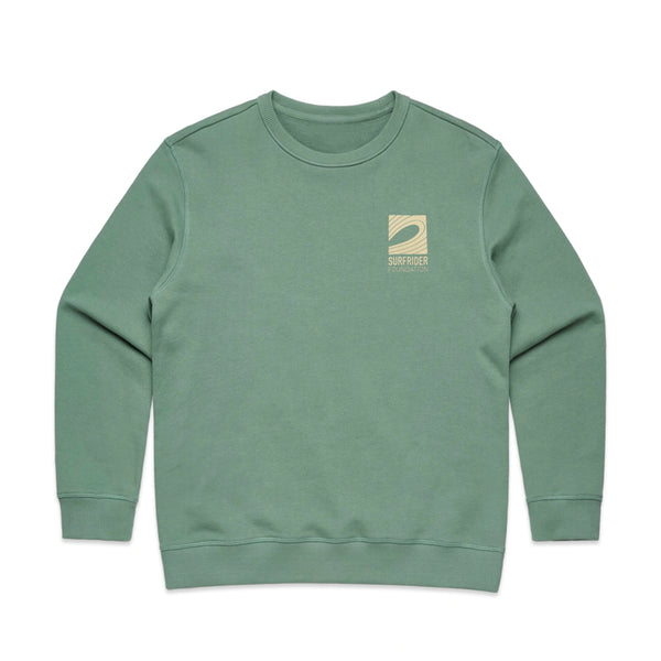 Womens Logo Sweater (Sage)