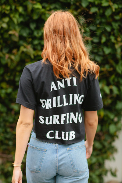 Anti Drilling Surfing Club T Shirt