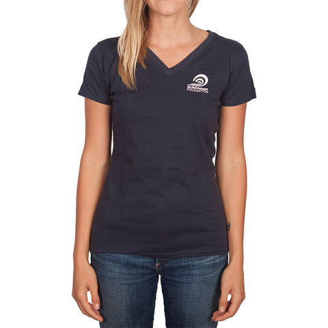 Womens Logo V-neck