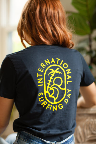 2019 International Surfing Day T-Shirt (womens)