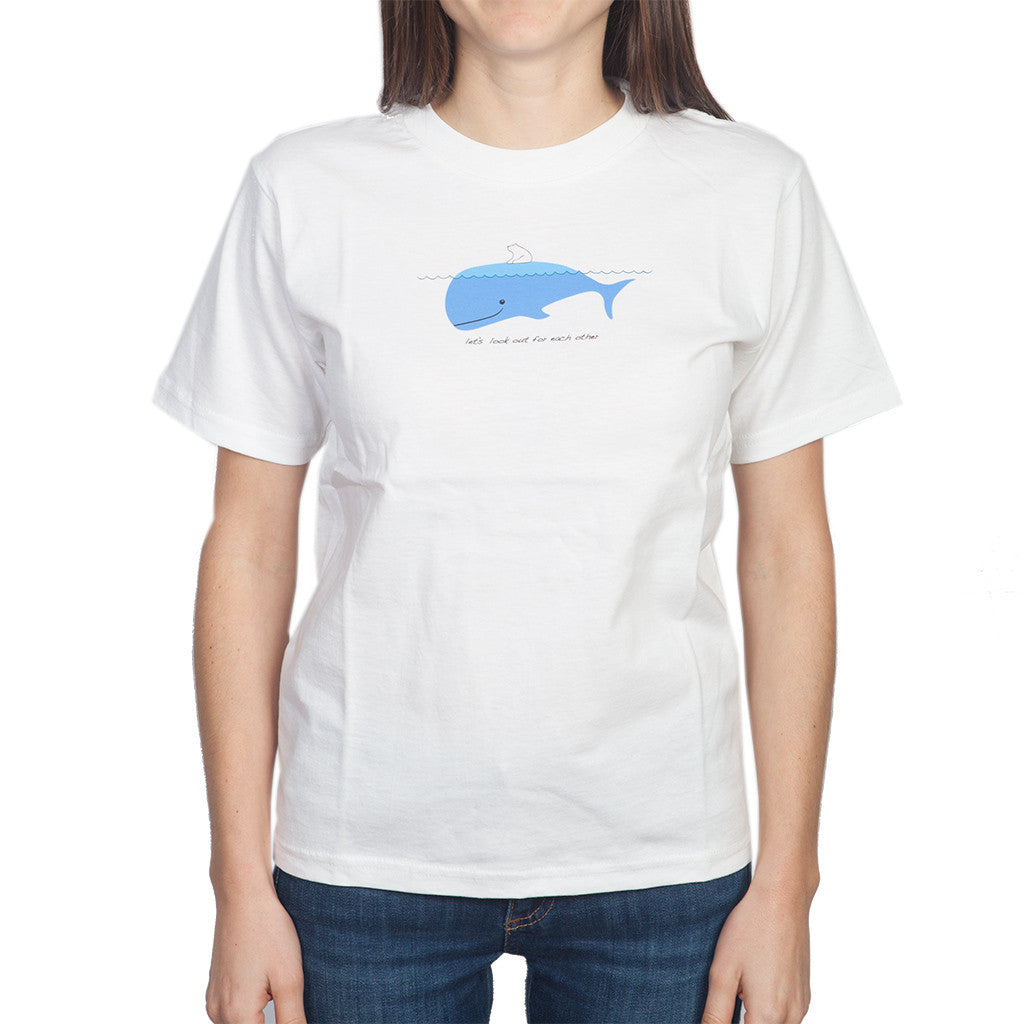 Polar Bear & Whale Youth T-Shirt