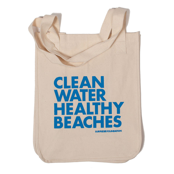 Clean Water Healthy Beaches Tote