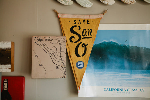Slightly Choppy Save San-O Flag