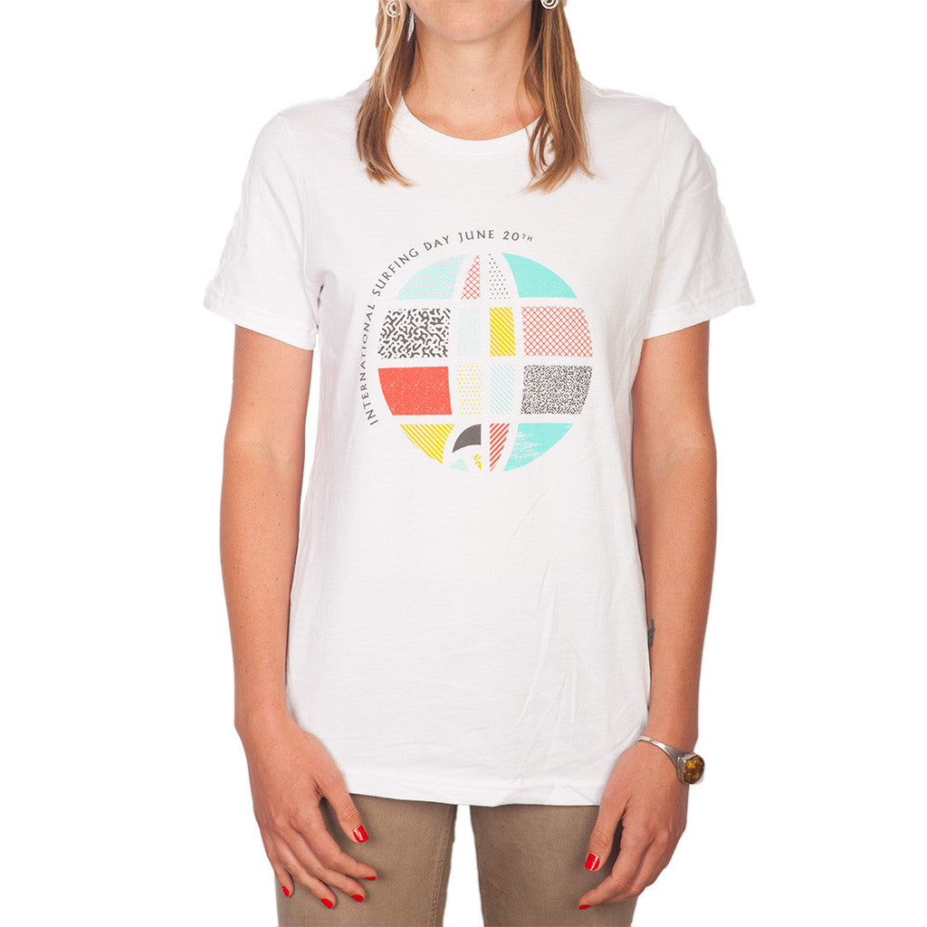 International Surfing Day T-shirt (womens)