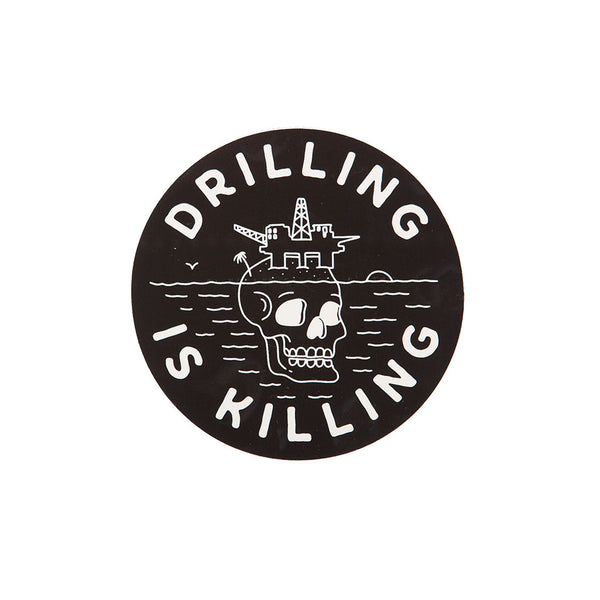 #DrillingIsKilling Sticker Pack