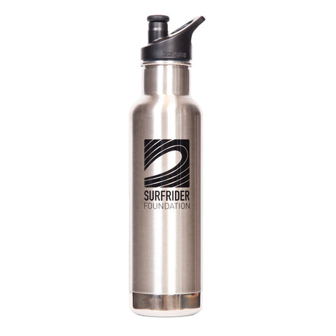 Klean Kanteen 20oz Insulated Chrome Water Bottle