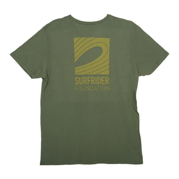 Logo Pocket T-Shirt Army Green