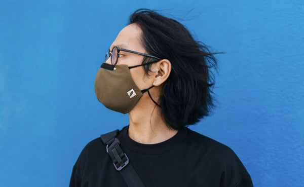 Tom Binh Face Mask - Army (Size: M/L)