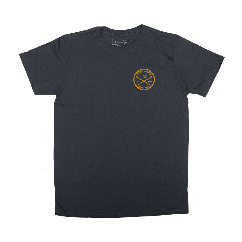 Long live the beach t shirt navy the surfrider foundation for Long beach ny shirts