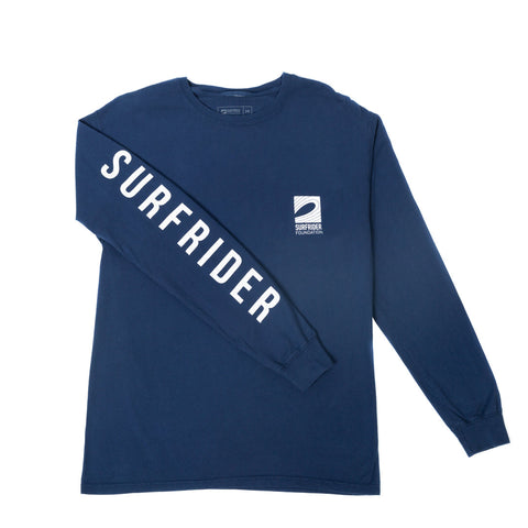 Logo Long Sleeve Shirt (Navy)