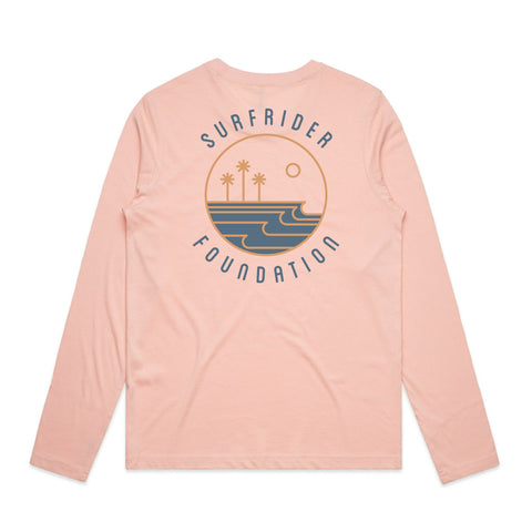 Gold Coast Long Sleeve Shirt - Pale Pink