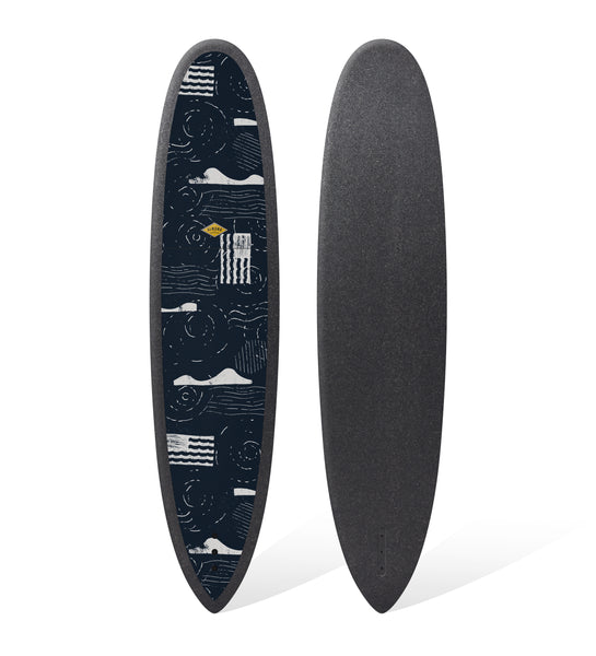 Almond x Surfrider R-Series 8'0 Joy Surfboard