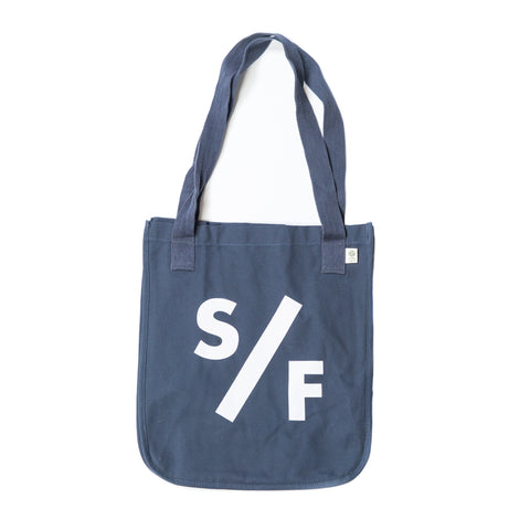 S/F Stacked Tote - Navy
