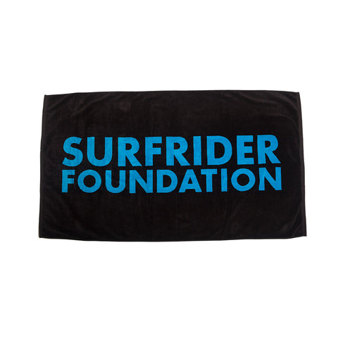 Surfrider Large Woven Beach Towel