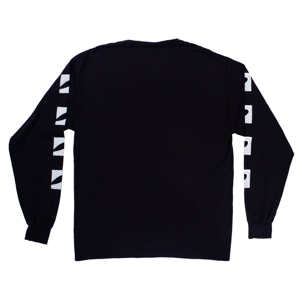 Logo Long Sleeve Shirt (Black)