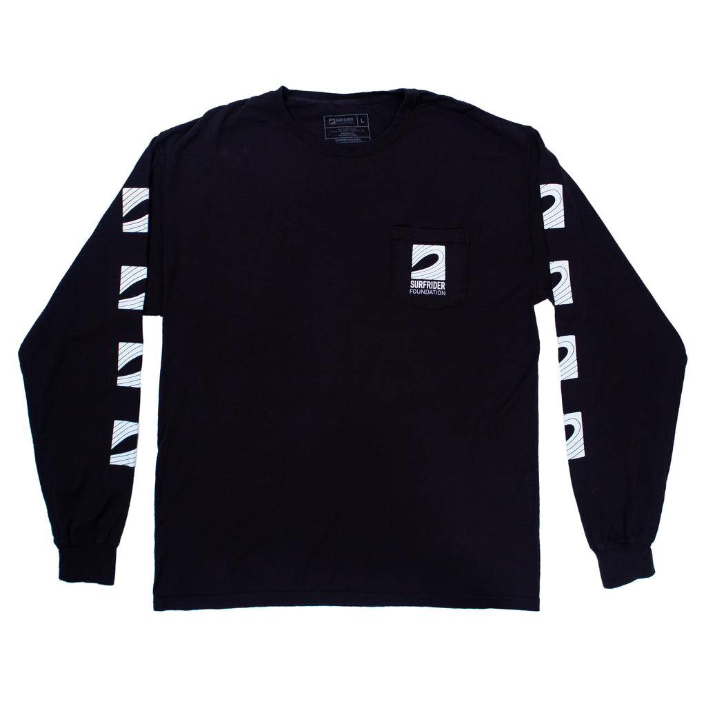 Logo Long Sleeve Pocket Shirt