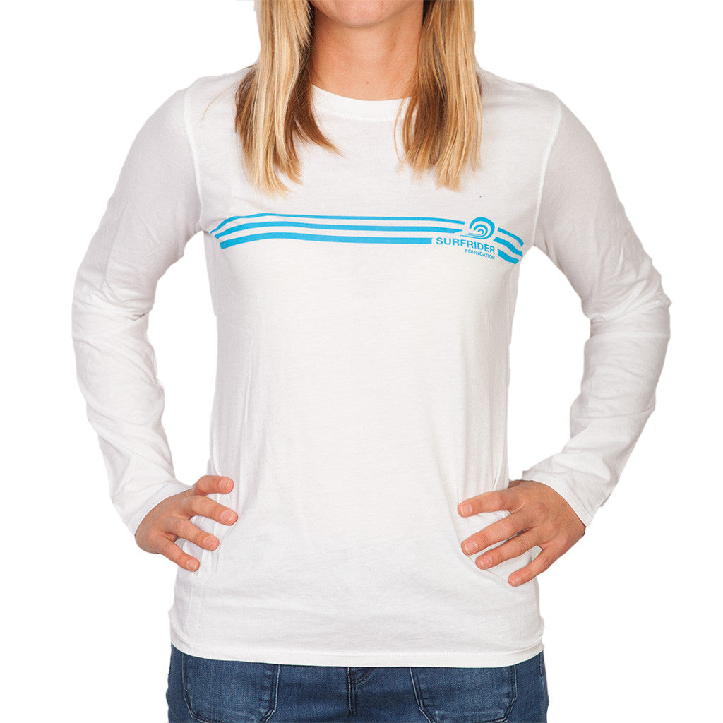 Competition Stripe Long Sleeve T-Shirt