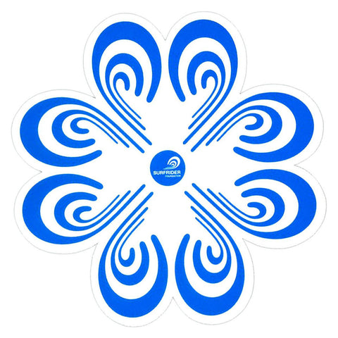 Surfrider Flower Logo Sticker