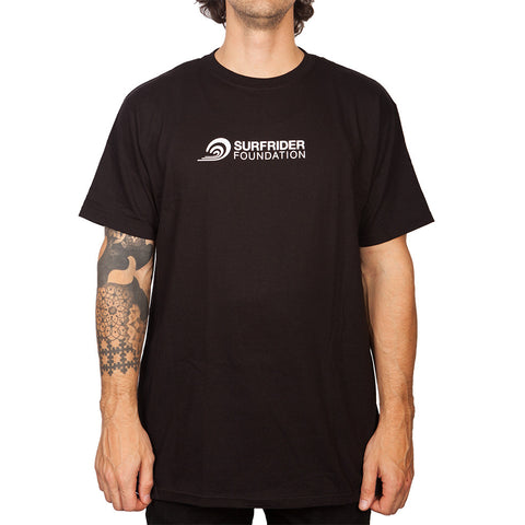 Horizontal Logo T-Shirt- Black