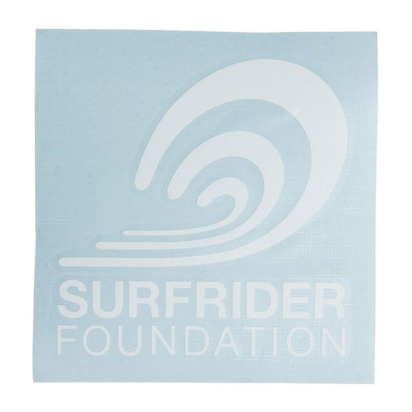 Surfrider Vertical Logo Die-cut Vinyl Sticker