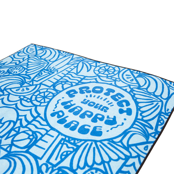 "Sanuk x Surfrider ""Protect Your Happy Place"" *Limited Edition* Towel"