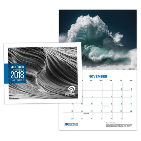 Surfrider Foundation 2018 Calendar
