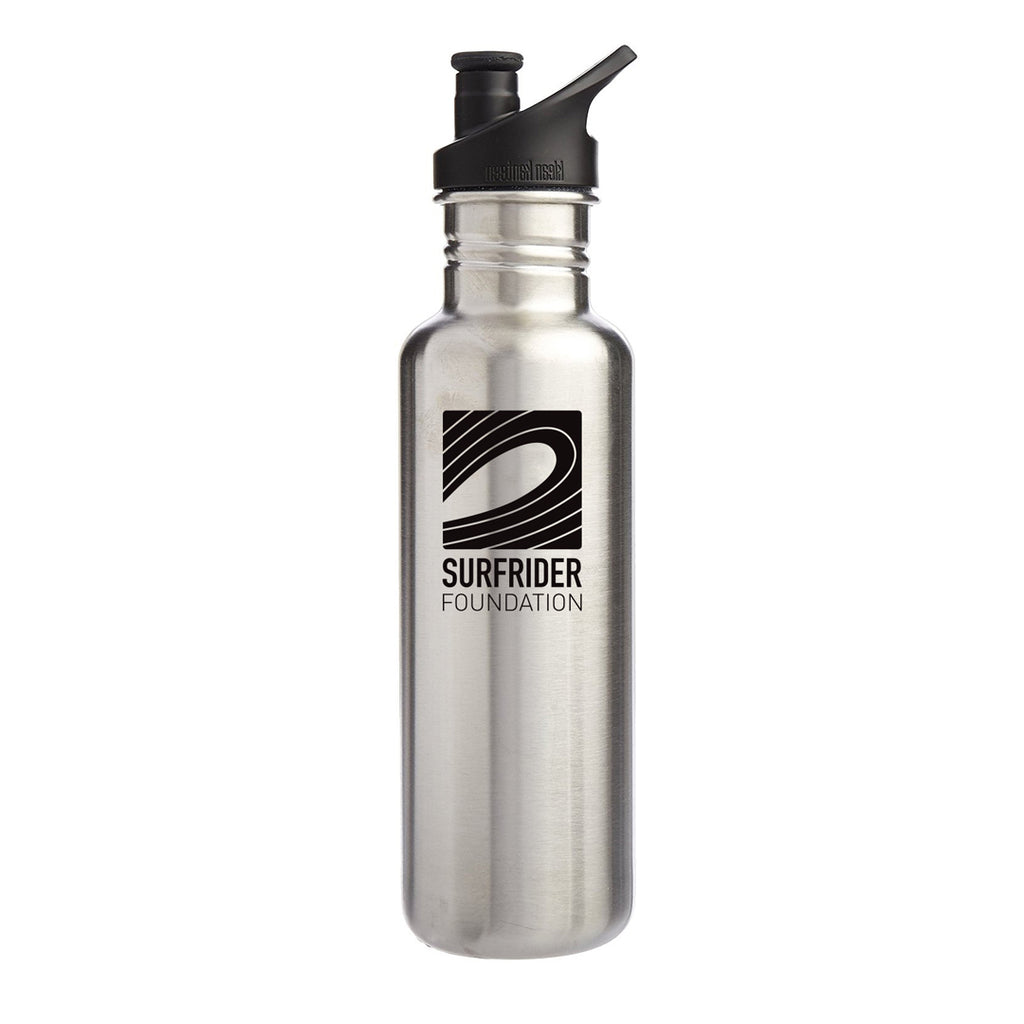 Klean Kanteen Classic 27oz Chrome Water Bottle