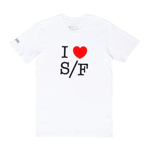 I Love S/F T-Shirt (Mens)