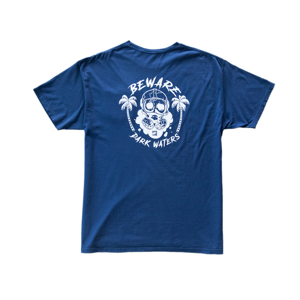 Dark Waters Pocket Tee - Navy