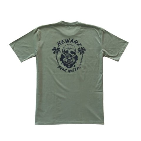 Dark Waters Tee - Army