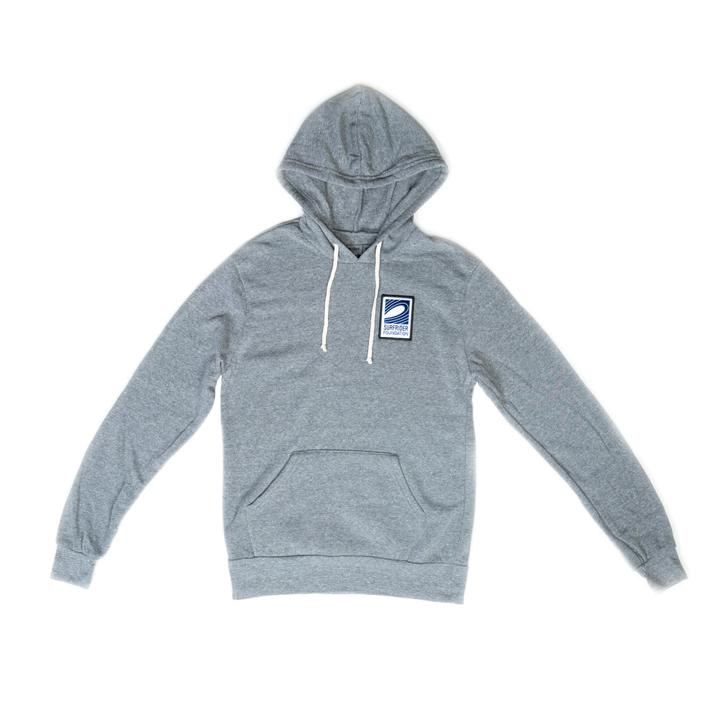 Logo Embroidered Hoodie (Heather Grey)