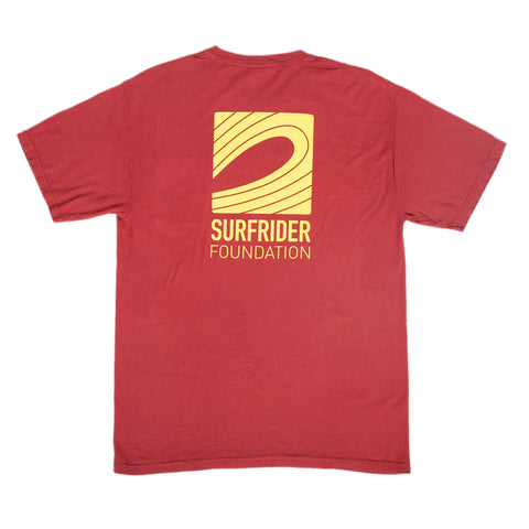 Logo Pocket T-Shirt (Maroon)