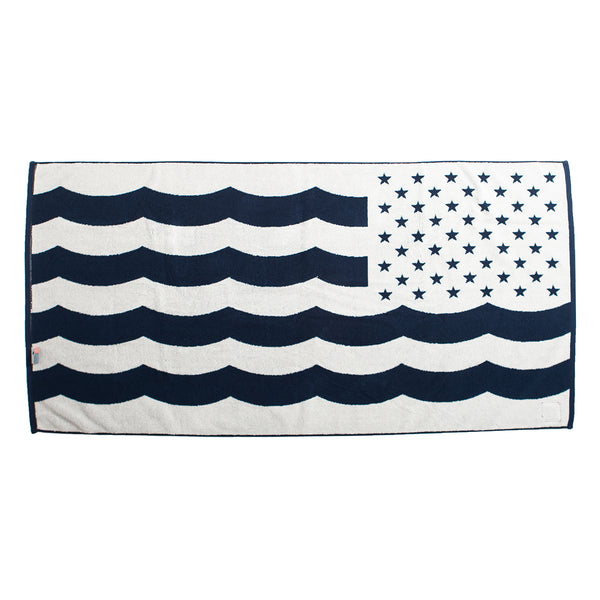 SlowTide x Surfrider USOA Woven Beach Towel *Limited Edition*