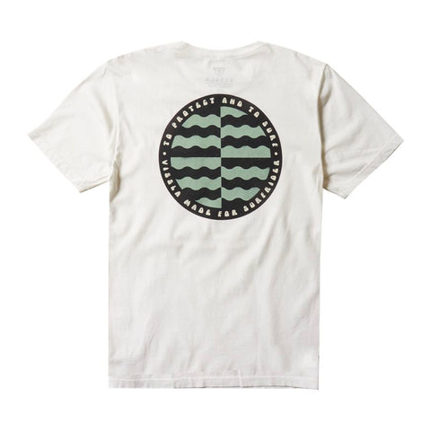 Surfrider Cycle Of Unity Upcycled Tee - White