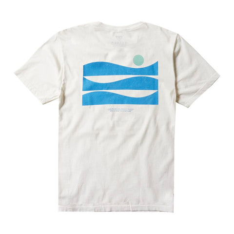 Surfrider New Horizons Upcycled Tee - White