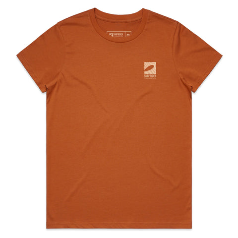 Women's Logo T-Shirt (Copper)