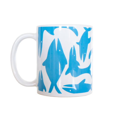 Almond x Surfrider Sea Animal Mug