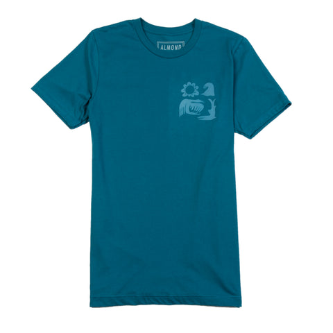 Almond x Surfrider Sea Animals Tee (Men's)