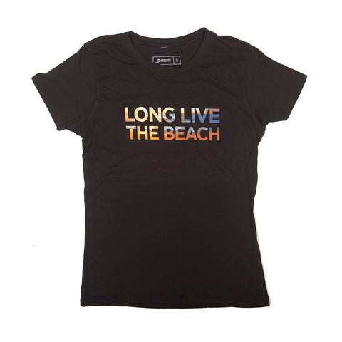 Long Live the Beach T-shirt (womens)