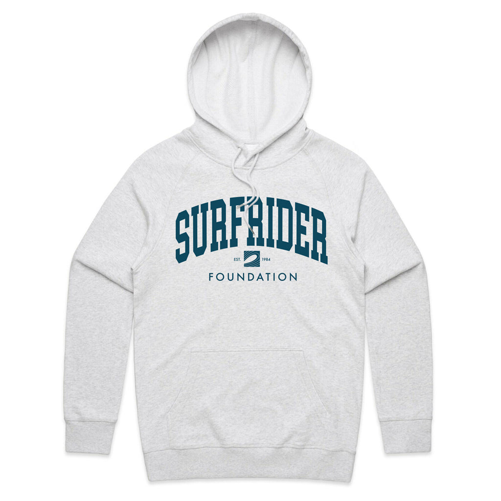 College Hoodie (White Heather)