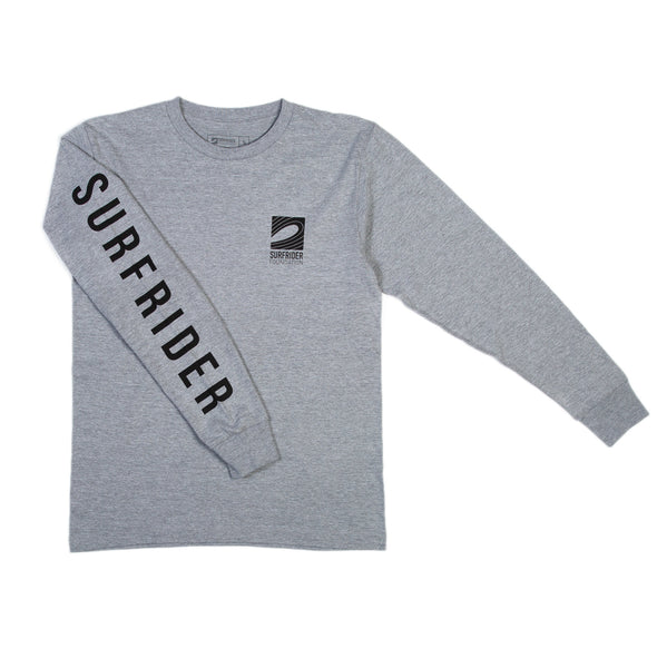 Logo Long Sleeve Shirt (Heather Grey)