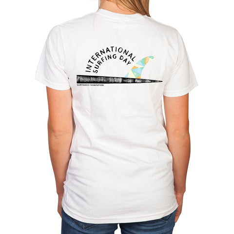 2018 International Surfing Day T-Shirt (womens)