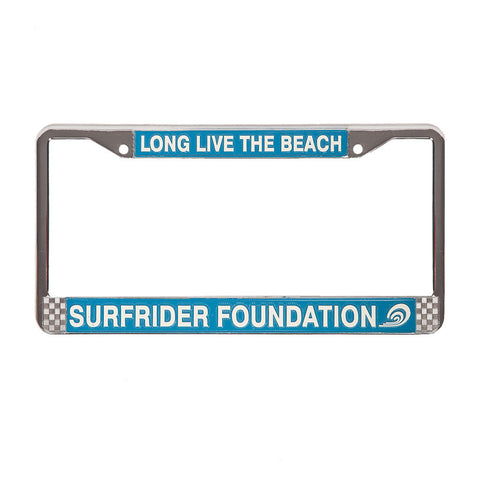 Surfrider Chrome Plate Frame
