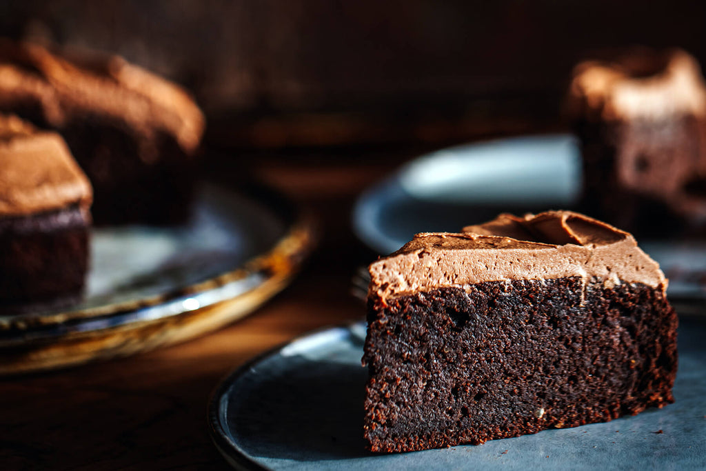 Chocolate Almond Cake - Gluten Free