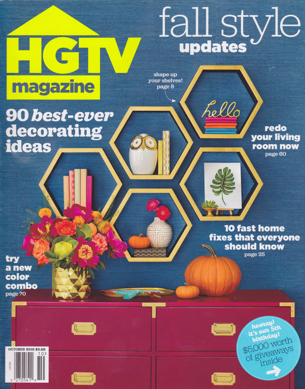 HGTV Magazine - October 2016
