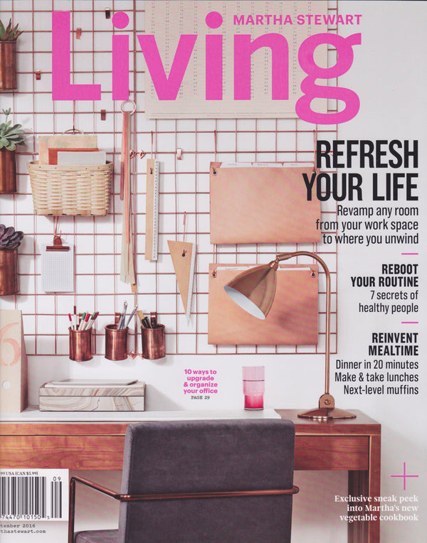 Martha Stewart Living - Sept 2016