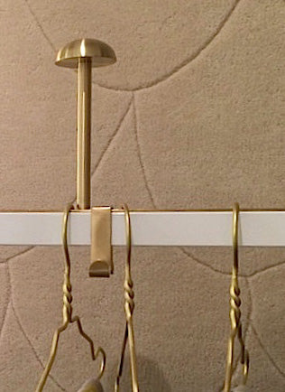 Hat Knob For TATI Coat Rack - Brass