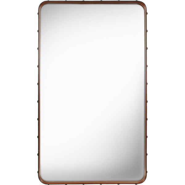 Adnet Rectangular Mirror 70x115 - Tan